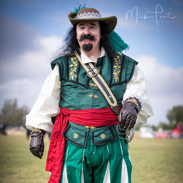 """I've loved the medieval period since I was a child, but I didn't wear anything medieval until 2012. I'm also a big fantasy/sci-fi/steampunk/historical costume lover of all sorts! I'm just happy to be here!"""